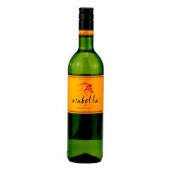 南非进口干白葡萄酒 艾拉贝拉 白诗南干白葡萄酒 750ml