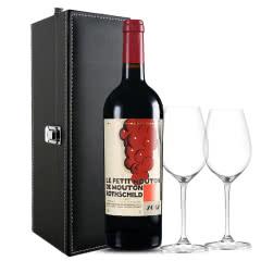 法国原瓶进口红酒 木桐副牌/小木桐干红葡萄酒  木桐副牌 2012年 750ml
