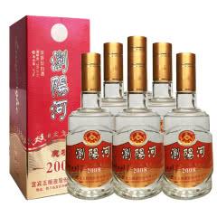 39°宜宾五粮液股份 浏阳河庆功2008 陈年老酒 整箱白酒 475ML*6(2006年)