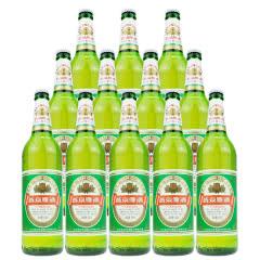 燕京啤酒 10度清爽特制 600ml(12瓶装)