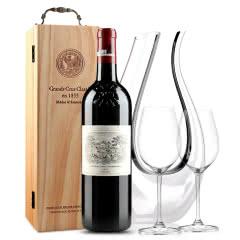 拉菲古堡干红葡萄酒 大拉菲 法国原瓶进口红酒 2015年 正牌 750ml