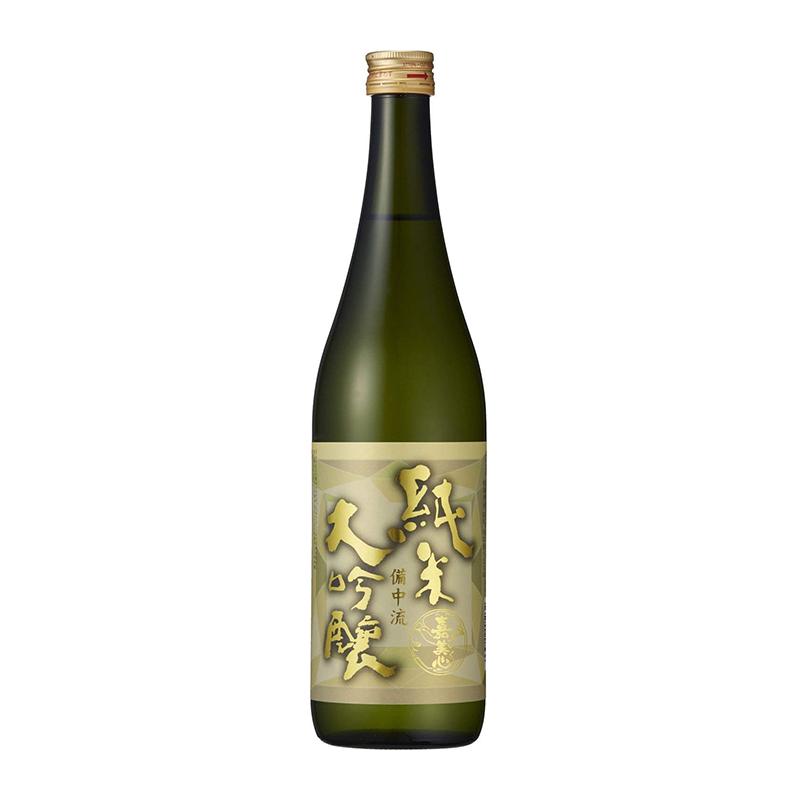 15.5° 日本 嘉美心 纯米大吟酿 备中流 720ml