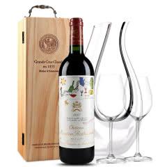 法国原瓶进口红酒 波亚克产区 木桐古堡干红葡萄酒 1997年 木桐正牌 单支 750ml