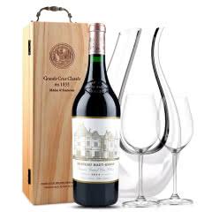 侯伯王红葡萄酒 奥比昂酒庄正牌 法国原装进口红酒 2014年 正牌 750ml
