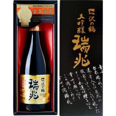 进口日本清酒 泽之鹤 瑞兆纯米大吟酿 720ml礼盒米酒