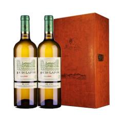 路易拉菲2009伯爵干白葡萄酒红酒礼盒装750ml*2