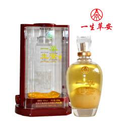 42°五粮液(股份)永不分梨酒一生苹安酒礼盒装600ml