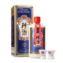 53°珍酒珍五 贵州酱香型白酒礼盒装 易地茅台酒 固态纯粮 500ml单瓶