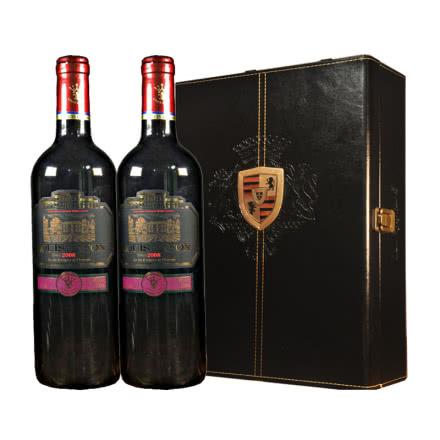 路易拉菲干红葡萄酒_路易拉菲酒 路易拉菲2008特选干红葡萄酒红酒礼盒装750ml*2_路易拉 ...