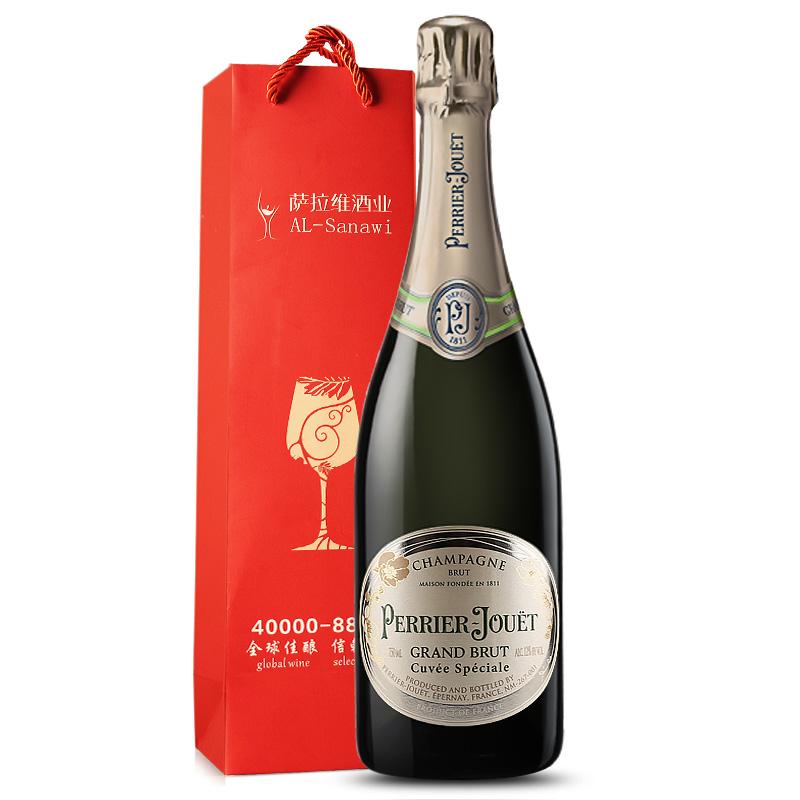 巴黎之花 香槟酒 法国原瓶进口起泡酒 750ml