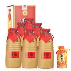 54°酒鬼湘泉500ml(6瓶装)+48°湘泉牌老湘泉125ml