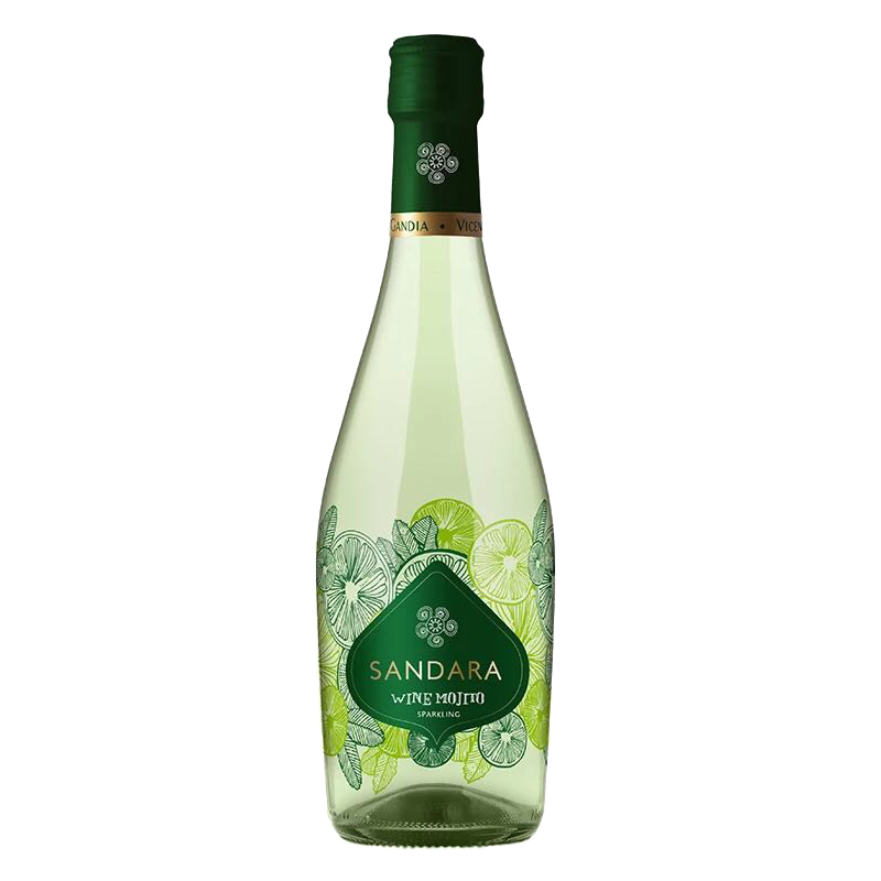 8°西班牙进口桑德拉莫吉托起泡葡萄配制酒 375ml