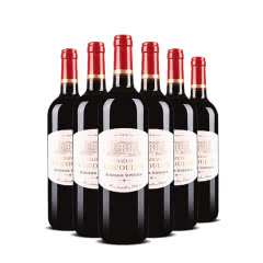 法国红酒 原瓶进口威卡伦超级波尔多干红葡萄酒 750ml(6瓶装)