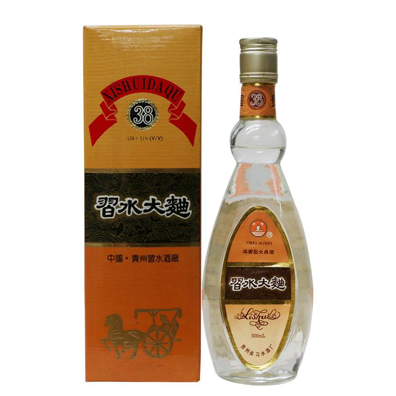 【老酒特卖】38±1°贵州习水大曲 500ml(93年左右)收藏老酒