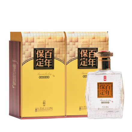 38°百年保定百顺宴500mL(2瓶装)