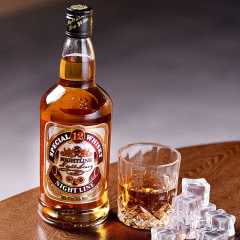 nightline/夜线12 威士忌洋酒40度烈酒鸡尾酒基酒700mL