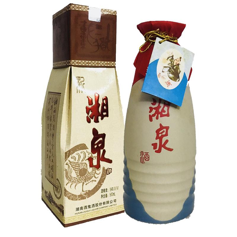 老酒 54°酒鬼酒公司新湘泉酒500ml(2003年)