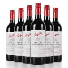 澳大利亚奔富Penfolds128/bin128干红葡萄酒750ml(6瓶装)