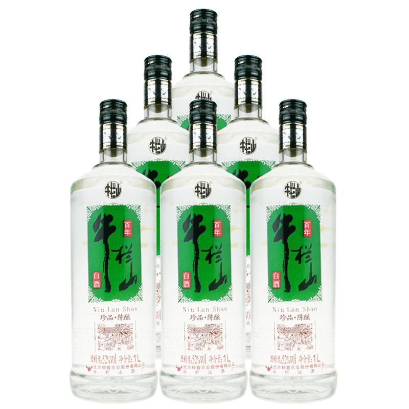 52°百年牛栏山珍品陈酿 1L(6瓶装)