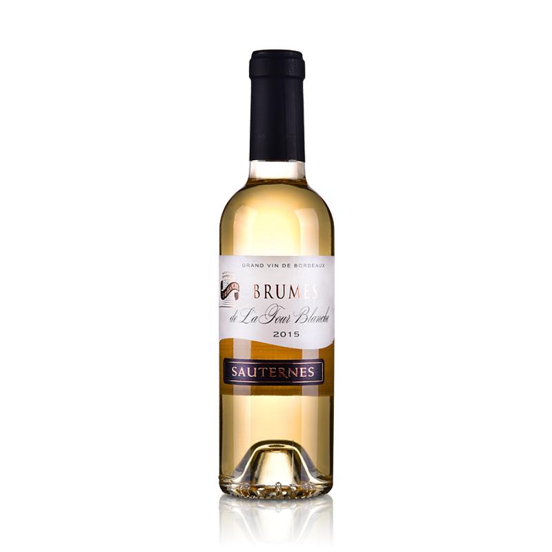 【包邮】法国白塔酒庄百乐门(Brumes de La Tour Blanche)苏岱贵腐甜白葡萄酒375ml