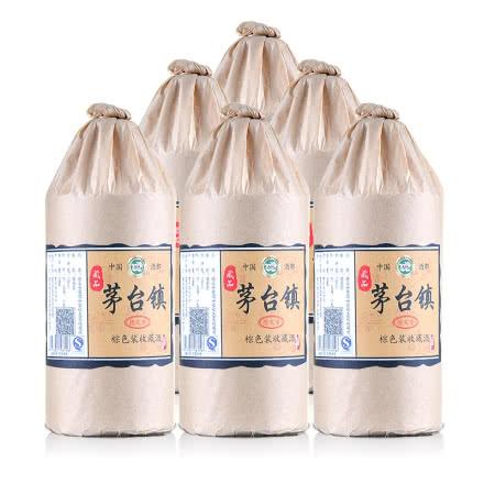 53°茅台镇收藏原浆酒酱香型棕色装500ml(6瓶装)