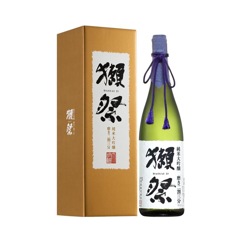 16°獭祭23纯米大吟酿二割三分清酒1800ml