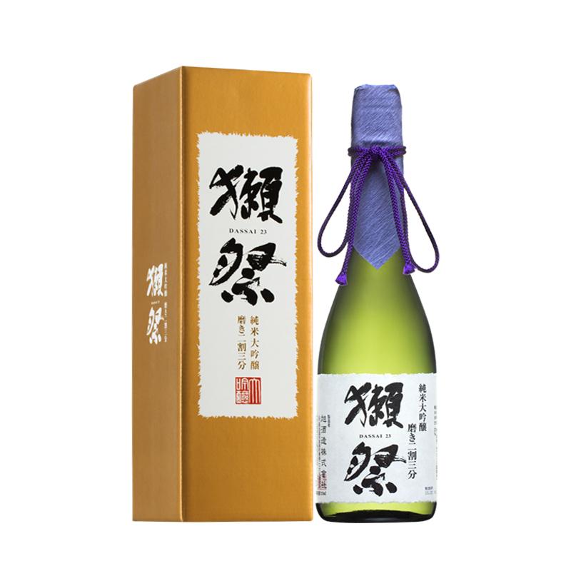 16°獭祭23纯米大吟酿二割三分清酒720ml