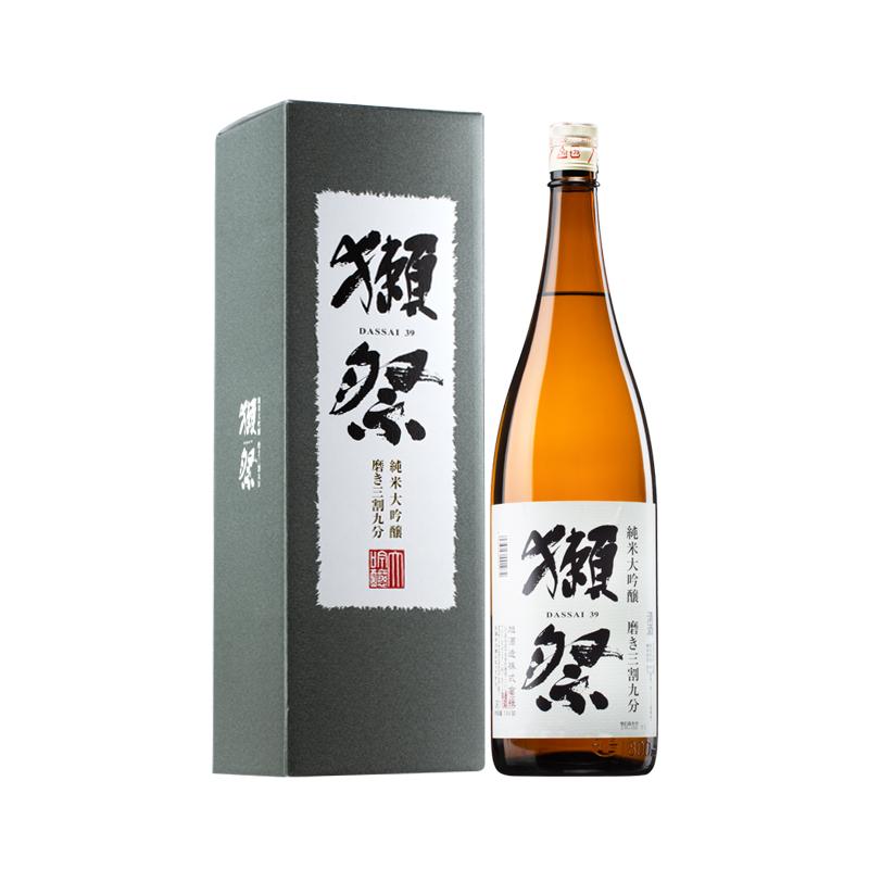 16°獭祭39纯米大吟酿三割九分清酒1800ml