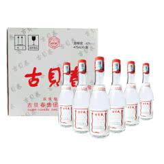 42°古贝春白板 浓香型白酒 475ml*6瓶