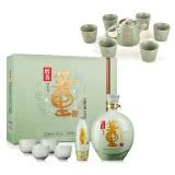 【礼盒】54°董酒醇香礼盒1000ml+茶具7件套