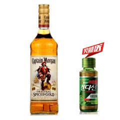 35°英国(Captain Morgan)摩根船长金朗姆酒配制鸡尾酒基酒进口洋酒700ml