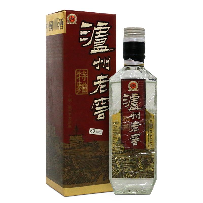 【老酒特卖】 泸州老窖(红盒) 80年代产 高度老白酒 收藏酒 陈年老酒 单瓶