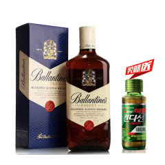 40°英国(Ballantine's)百龄坛特醇苏格兰威士忌进口洋酒烈酒700ml