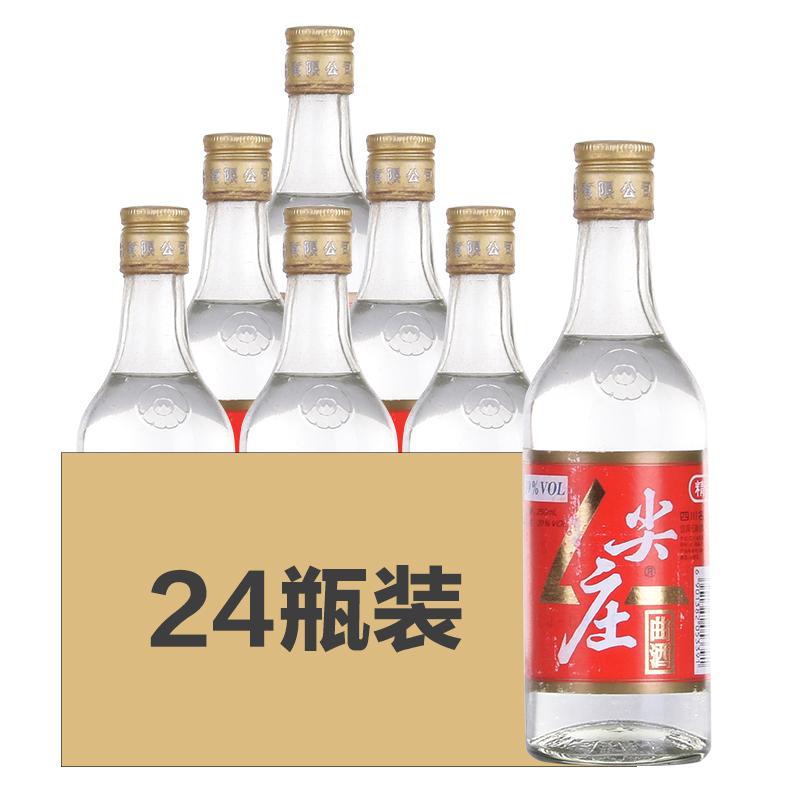 【老酒】39°尖庄曲酒(精品)250ml(2000年)原箱24瓶