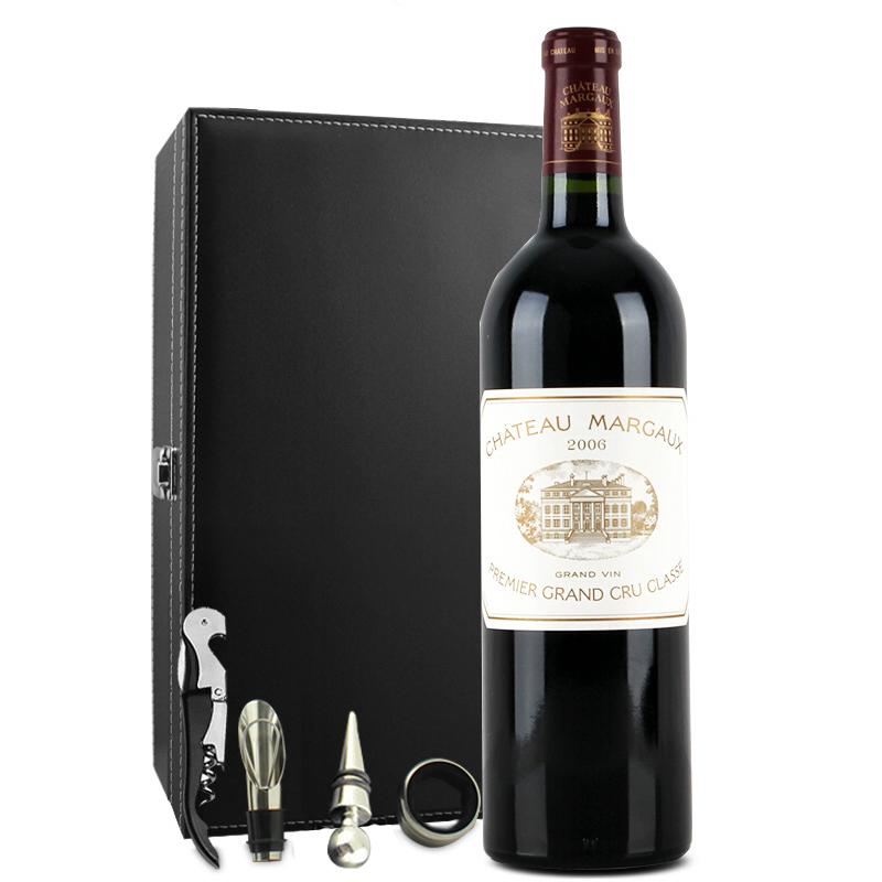 (列级庄·名庄·正牌)法国玛歌古堡2006干红葡萄酒750ml