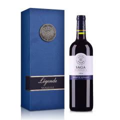 法国拉菲传说2016波尔多法定产区红葡萄酒750ml(礼盒装)