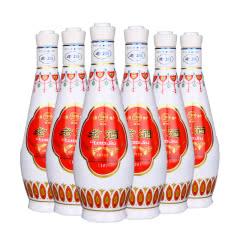 48°汾酒产地杏花村老酒清香型原浆白酒礼盒装500ml(6瓶整箱装)