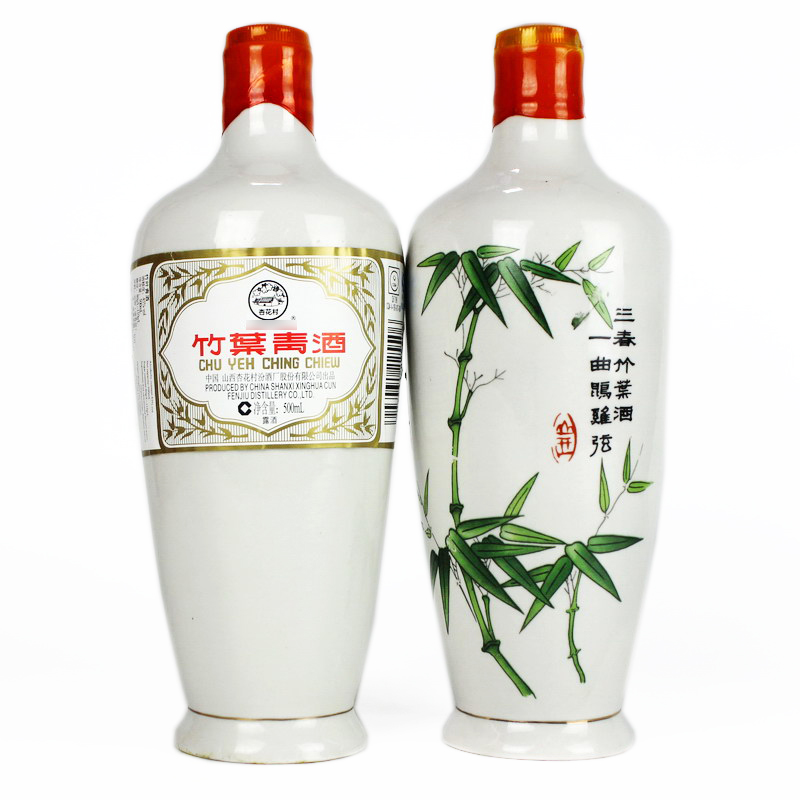 45°竹叶青酒500ml*1支(2010年)