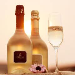 意大利原瓶进口起泡葡萄酒 天生一对甜起泡+干型起泡酒香槟组合红酒 高档气泡酒750ml*2