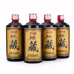 53°贵州茅台镇王祖烧坊窖藏原浆.黑藏500ml*4酱香型白酒
