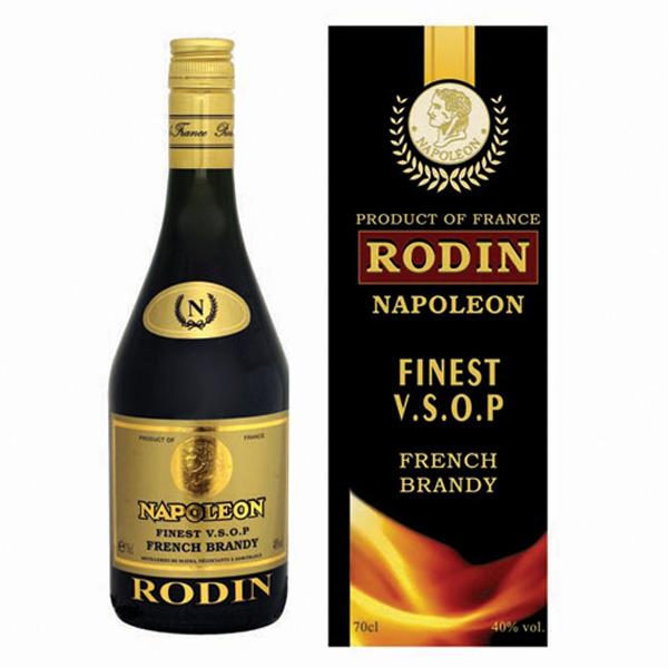 法国雷霆白兰地酒 Rodin Napoleon VSOP