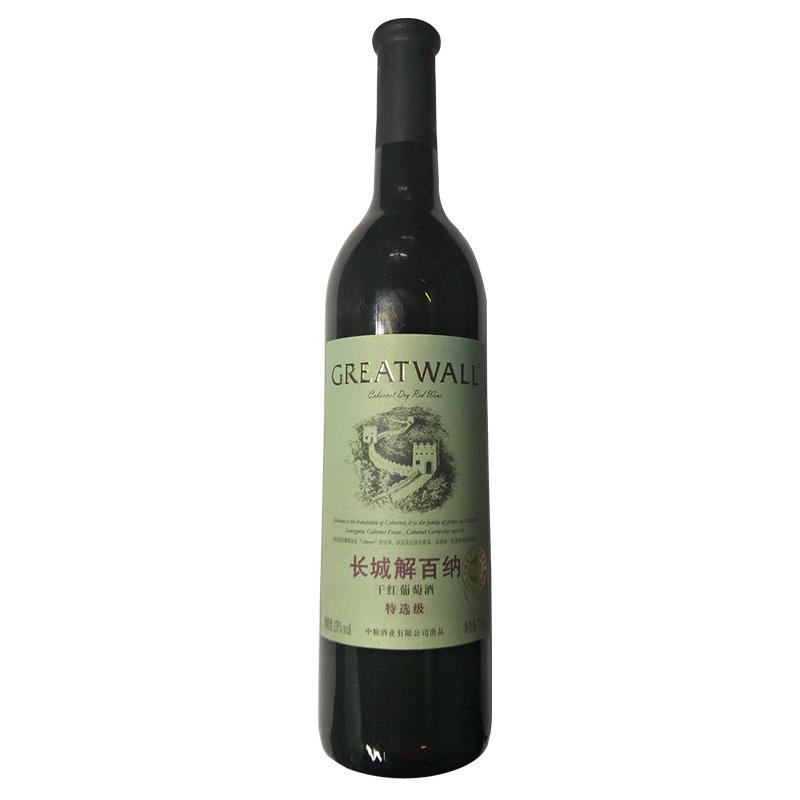 长城解百纳特选级干红葡萄酒750ml(6瓶装)