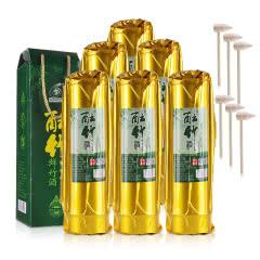 52°酝竹酒妙竹生态青竹酒白酒鲜活竹筒酒500ml(6瓶装)