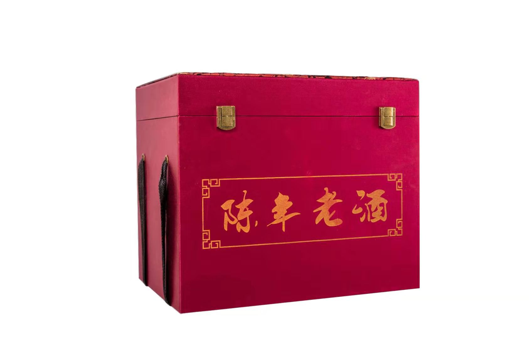 陈年老酒锦盒红色(6瓶装)