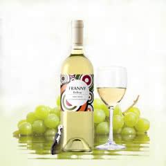 法国进口干白维莎雷司令干白葡萄酒750ml(单支)