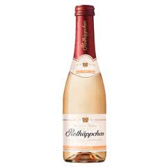 Rotkappchen/小红帽 德国原装进口 小红帽起泡酒 葡萄酒 玫瑰特酿200ml*1