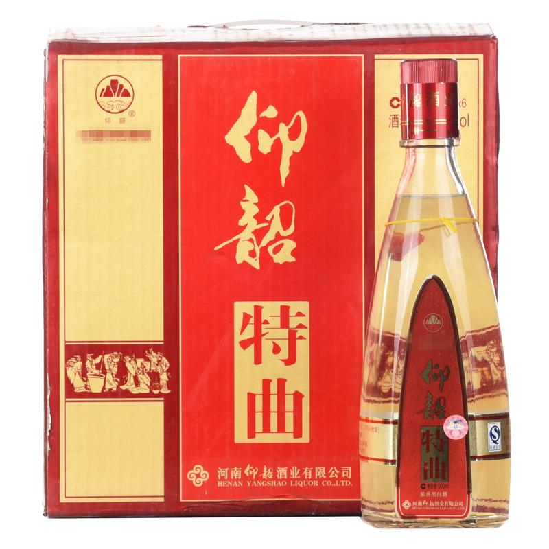 【老酒收藏酒】52°仰韶特曲500ml(2008年)1箱6瓶
