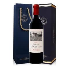 法国DBR拉菲红酒 原瓶进口波美侯产区乐王吉古堡干红葡萄酒 2014年份正牌 750ml