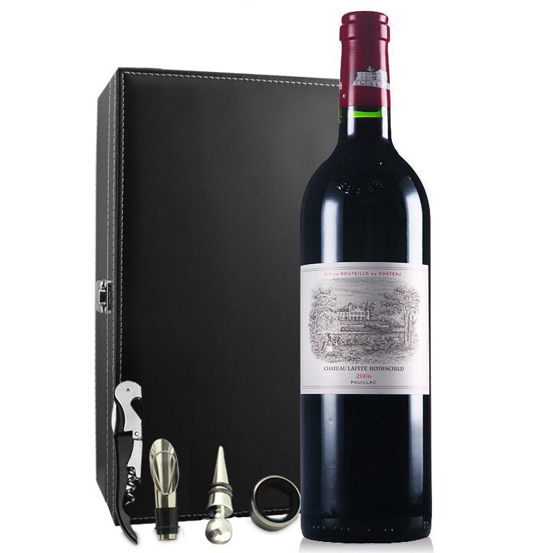 (列级庄·名庄·正牌)法国拉菲酒庄2006干红葡萄酒750ml(又译大拉菲、拉菲城堡)