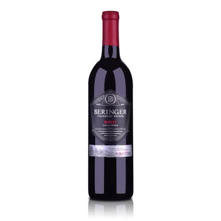 美国贝灵哲创始者庄园梅洛红葡萄酒750ml